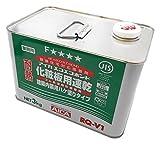 アイカ エコエコボンド 耐熱 ゴム系溶剤形接着剤 化粧板用速乾 建築内装用ハケ塗りタイプ 3kg RQ-V1