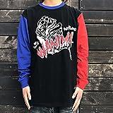WANIMA JUICE UP!! TOUR FINAL 会場限定販売 WANIMA×LEFLAH PIG MONSTAR ロンT BLU/RED 青×赤 (Lサイズ)