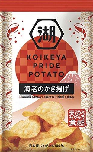 湖池屋 KOIKEYA PRIDE POTATO 海老のかき...
