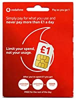 Vodafone イギリス他ヨーロッパ各国対応 500MB*10日チャージ済み 500MB*10日間もしくは10回繰返利用可能