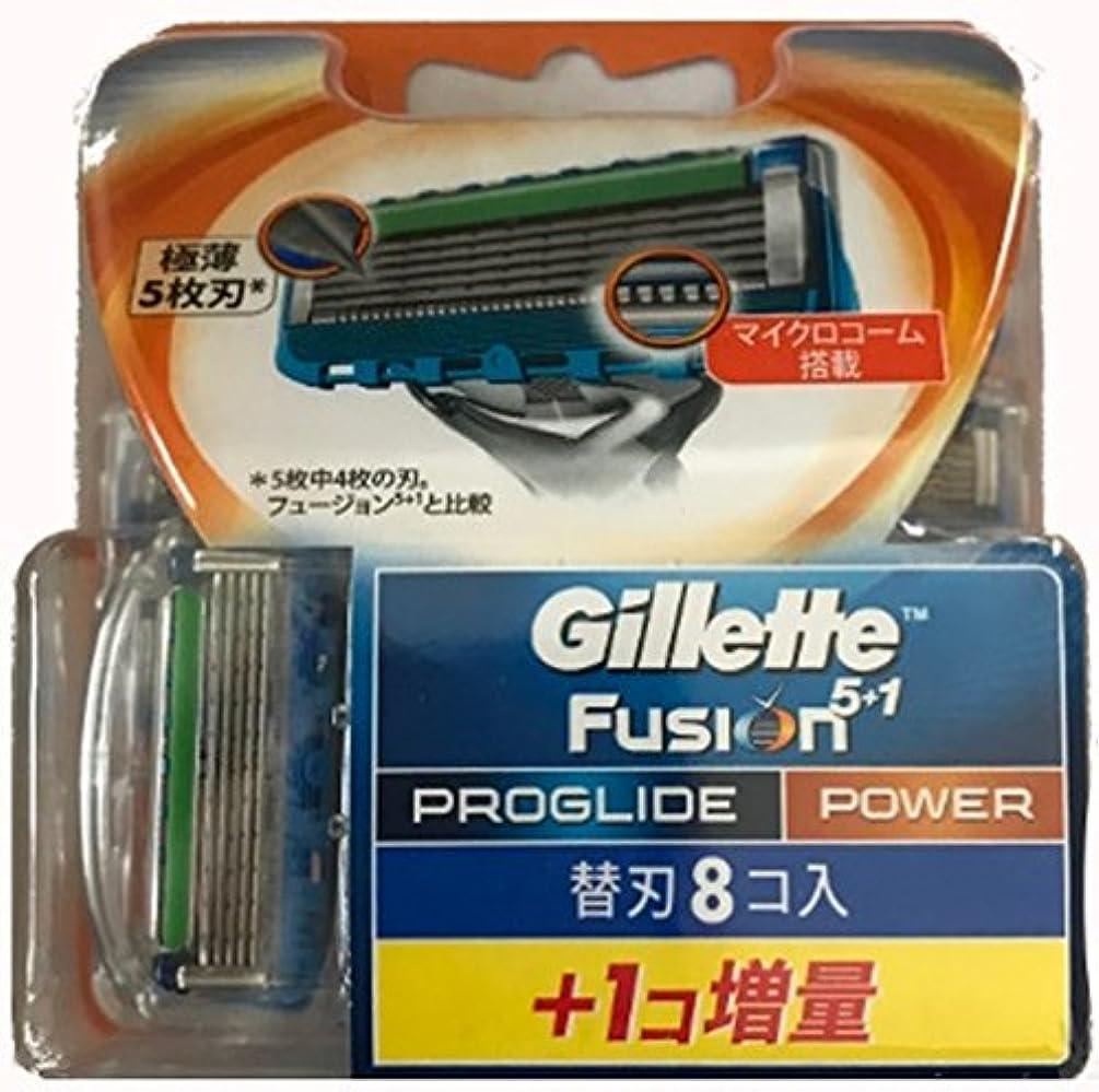 教授引き出し操作可能ジレット プログライド フレックスボール パワー 替刃 9コ入(8コ+増量1コ)