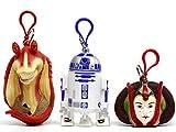 スター・ウォーズ アミダラ姫、ジャー・ジャー・ビンクス、R2-D2 トレジャーキーパー 3点セット 小物入れ キーホルダー アプローズ社 AMIDARA JAR JAR BINKS