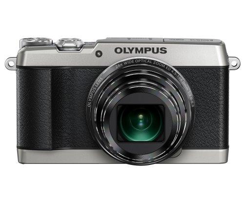 OLYMPUS デジタルカメラ STYLUS SH-1 シルバー 光学式5軸手ぶれ補正 光学24倍&超解像48倍ズーム SH-1 SLV