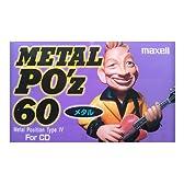 日立マクセル カセットテープ 60分 METAL PO'z 60 メタル FOR CD