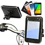 Navitech タブレット用自転車防水マウント&タブレットホルダー (Google Nexus 7 / Google Nexus 7 2 FHD 2013)