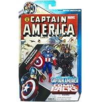 マーベル ユニバース MarvelUniverse 3.75インチ コミック 2パック キャプテン アメリカ & ウィンター ソルジャー