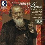 V 1: PIANO MUSIC OF JOHANNES BRAHMS