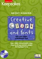 Cd Clips & Fonts by Becky [DVD]