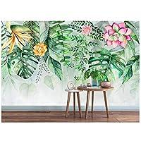 caomei 写真の壁紙大壁画の3D熱帯雨林バナナの葉写真の壁紙3Dアイビングルームの3D壁紙@ 1