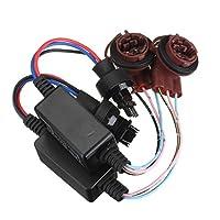 WINOMO 2個 3157 LED抵抗器デコーダ アダプター車用LEDデコーダーライト