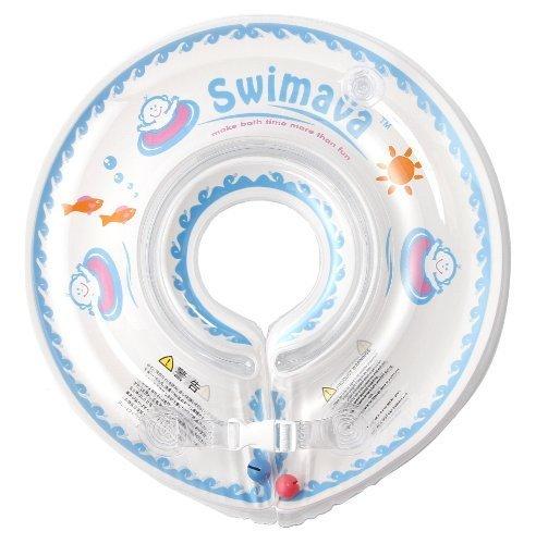 スイマーバ Swimava うきわ首リング (ホワイト) SW120W