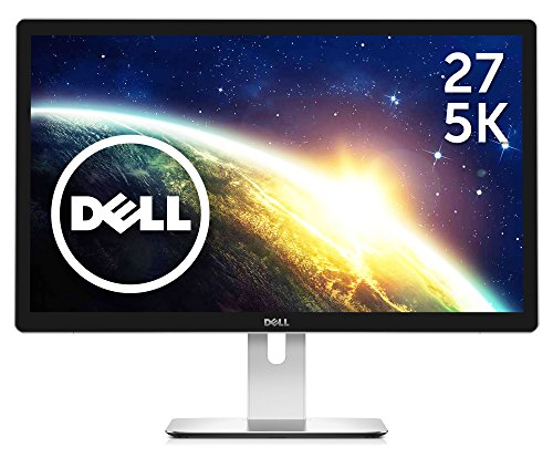 Dell ディスプレイ モニター UP2715K 27インチ/5K/IPS低反射/8ms/MninDPx1,TwinDPx1/AdobeRGB 99%/USBハブ/スピーカ内蔵/3年間保証