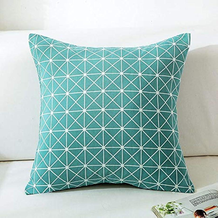 ワゴンあご高める18-AnyzhanTrade 枕カバースクエアコットンソファチェアリビングルームの寝室車ウエスト枕 (Color : Style 3)