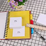 Eagle White Sticky Notes, 3 X 3-Inches, 100 Sheets per Pad, 4 Pads (White)