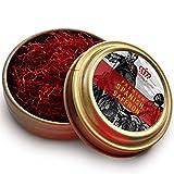 La Mancha Prime 2 Grams All RED Premium Coup Spanish Saffron - Grade A