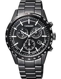 [シチズン]CITIZEN 腕時計 CITIZEN-Collection シチズンコレクション Eco-Drive エコ・ドライブ メタルフェイス 日本製 オールブラックモデル BL5495-56E メンズ