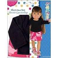 スプリングフィールドコレクションシャツ&迷彩skirt-black SHおもちゃクリスマスギフト