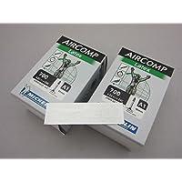 【国内正規代理店品】 Michelin(ミシュラン) AIR COMP LATEX A1(エアコンプ ラテックス) チューブ 2本セット +zitensyadepoステッカー