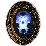 [リバティインポート]Liberty Imports Motion Activated Haunted Mirror with Creepy Sound Luminous Portrait Halloween Prop [並行輸入品]