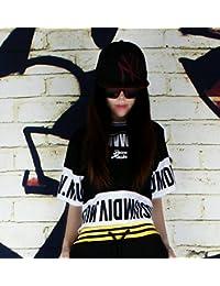 (マリア)MARIAHヒップホップ 演出服 ファッション 男女兼用 半袖 カジュアル/キラキラトップス ジャケット ダンス衣装