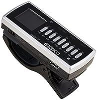SEIKO セイコー クロマティッククリップチューナー LEDライト付 STX7