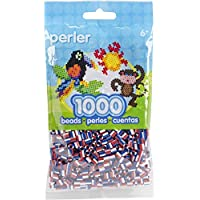 Perler Beads Patriotic Striped Beads (1000 Count) by Perler