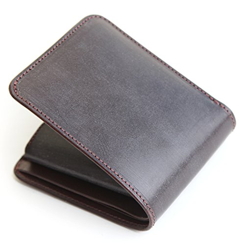 (ファイブウッズ) FIVE WOODS 二つ折り財布 メンズ 革 レザー 本革 キャスク 38054 ダークブラウン(DARKBROWN)