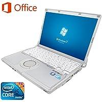 【Microsoft Office 2016搭載】【Win 7搭載】Panasonic CF-S9/新世代Core i5 2.66GHz/メモリ4GB/HDD250GB/DVDスーパーマルチ/12.1インチ/無線LAN搭載/中古ノートパソコン