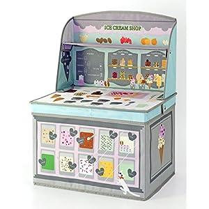 Kishima キシマ ごっこ遊び キッズ収納ボックス アイスクリームショップ KNB-88051 0ヶ月~6歳 出産祝い