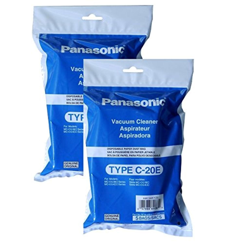 Panasonic amc94kyz0タイプc-20eキャニスター真空バッグ 10 Bags AMC94KYZ0