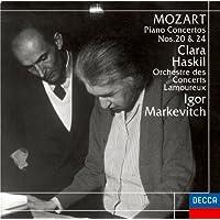モーツァルト:ピアノ協奏曲第20&24番
