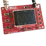 KKmoon DSO138 デジタル・オシロスコープ 2.4インチTFT ハンドヘルドポケットサイズ オシロスコープ キットDIYパーツ 電子学習セット 1Msps (SMDはんだ付け)