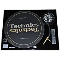 Technics Black Face Plate for Technics SL-1200 / SL-1210 MK2 Turntables by Quality Electronics