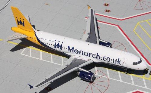 1: 200 ジェミニジェット Monarch エアバス 320-200 (並行輸入)