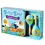 Ditty Bird Our Best Gift Box:  Interactive Nursery Rhymes Book and Toy Maracas for Babies.  Music Toys for   Baby,  Toddler, one Year Old. 1 Year Old boy Gifts. 1 Year Old Girl Gifts.