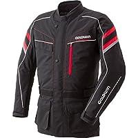 GOLDWIN(ゴールドウイン) バイクジャケット リアルスポーツロングジャケット ブラック×レッド Mサイズ GSM12552