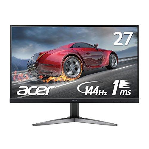【Amazon.co.jp限定】Acer ゲーミングモニター ディスプレイ KG271UAbmiipx 27インチ/WQHD/1ms/144Hz/TN/非光沢