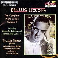 レクオーナ:キューバ・ラプソディ~ピアノと管弦楽 他 (Lecuona - The Complete Piano Music, Vol.3 )