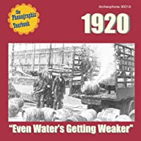 Phonographic Yearbook 1920: Even Water's