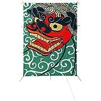 角凧(獅子頭)【お正月飾り】(DE0425)