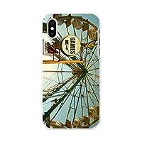 igcase iPhone XS 専用ハードケース スマホカバー カバー ケース pc ハードケース 観覧車 ビンテージ 写真 011182