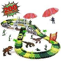 恐竜 おもちゃ 恐竜 世界 車 レース トラック ブリッジ クリエイト A 200