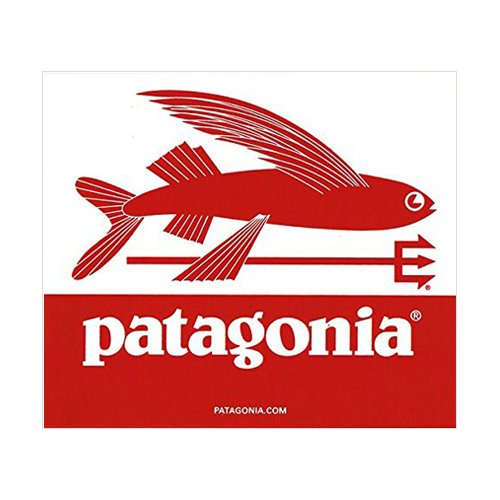 パタゴニア ( patagonia ) TRIDENT FISH 正規品 ステッカー デカール シール