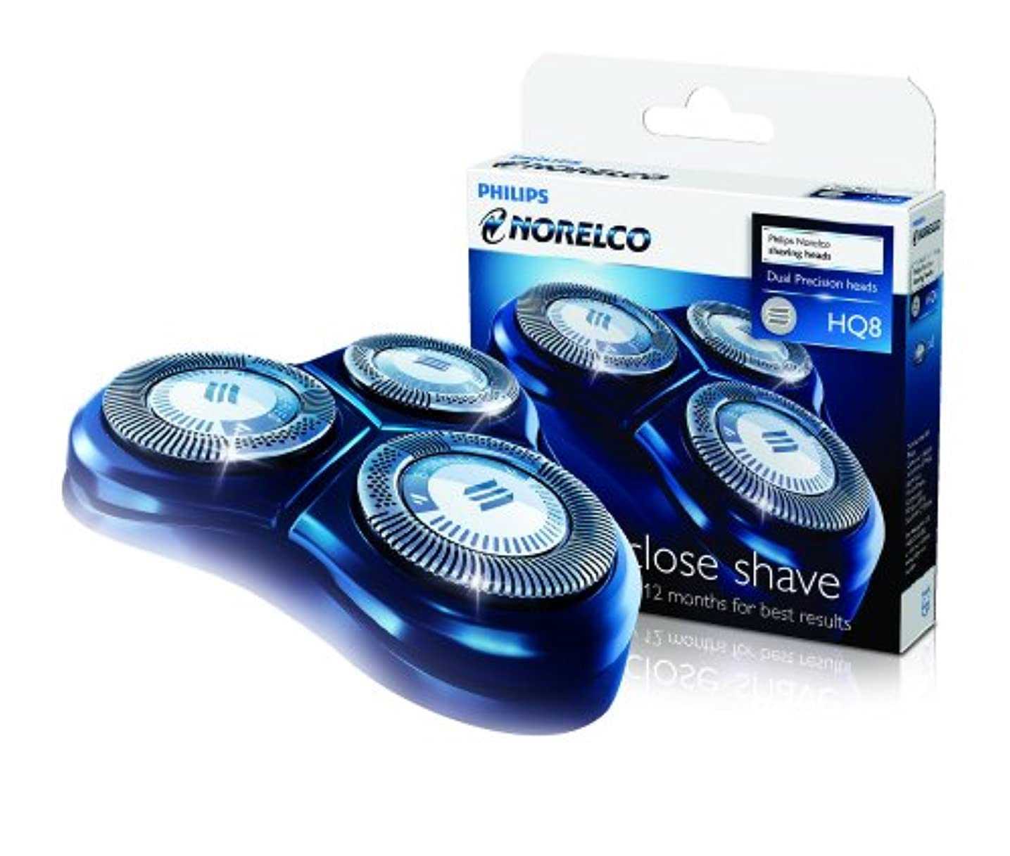 有毒称賛高くPhilips Norelco HQ8 Sensotec Spectra (3 Pack) For Use With Philips Shavers: 7100 Series, 7200 Series, 7300 Series...