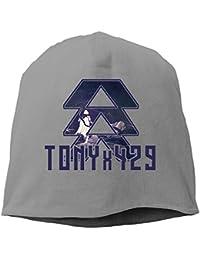 【Dera Princess】メンズ レディース ニット帽 Tonyx429 - Hunterロゴ コットン ニットキャップ 帽子 オールシーズン 被れる