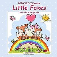 2020 Kid's Calendar:  Little Foxes Vertical Wall Edition