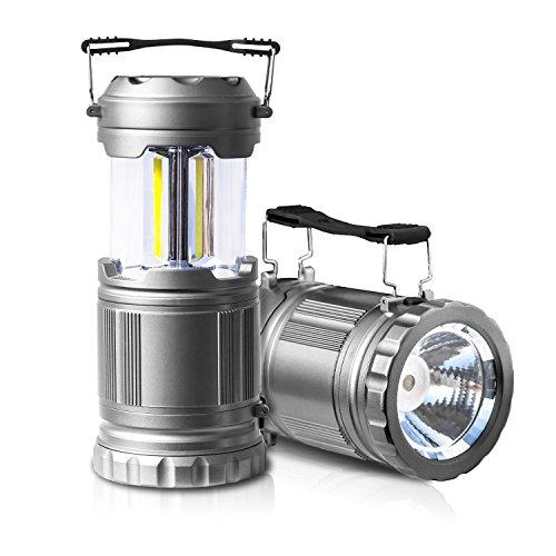 PUAIDA LEDランタン LED懐中電灯 キャンプ 野営 携帯型折り畳み式ランタン 電池式ランタン 防水 防災 登山 夜釣り ハイキング アウトドア適用 2個セット