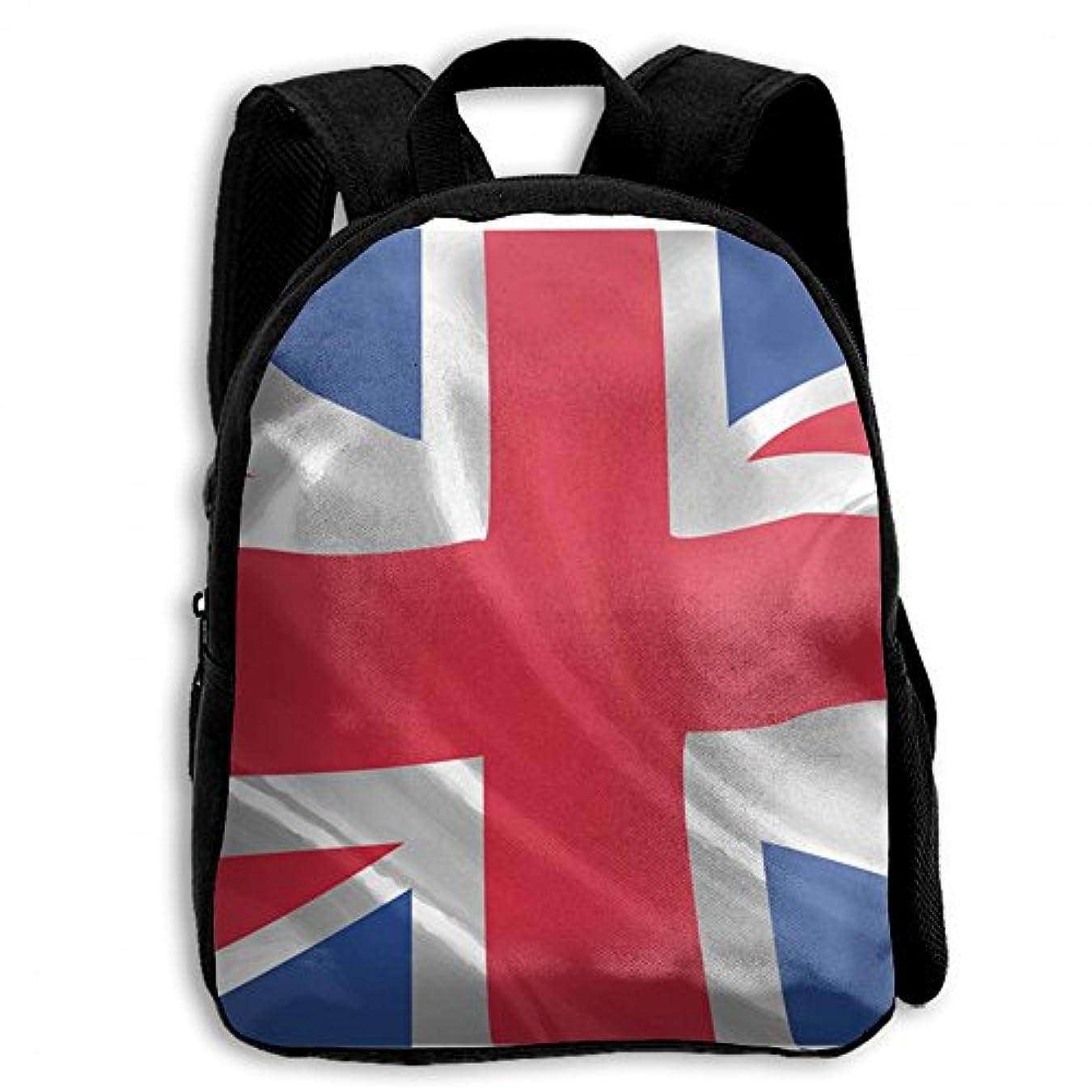 インフルエンザ床影響力のあるキッズ リュックサック バックパック キッズバッグ 子供用のバッグ キッズリュック 学生 イギリスの国旗 自由 アウトドア 通学 ハイキング 遠足