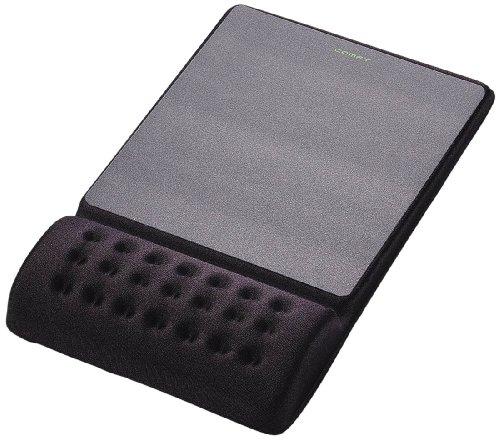 エレコム COMFY マウスパッド(軽快) ブラック MP-096BK 1個