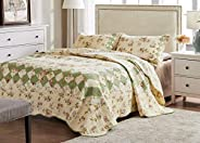 Greenland Home Fashions Bliss Ivory Quilt Set